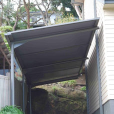 Traditional Garage And Shed by Outrigger Awnings and Sails, Sydney