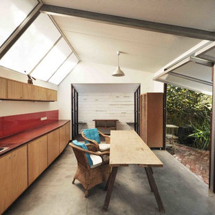 This is an example of a small urban detached guesthouse in Perth.
