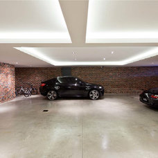 Contemporary Garage And Shed by C. Kairouz Architects