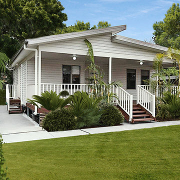 Granny Flat with extended  Alfresco area