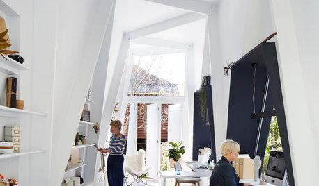 A Fresh Angle on a Backyard Studio