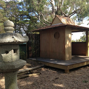 Inspiration for a small asian detached garden shed in Wollongong.