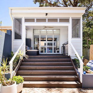 Design ideas for a small beach style detached granny flat in Sydney.