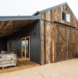 This is an example of a mid-sized country detached barn in Other.