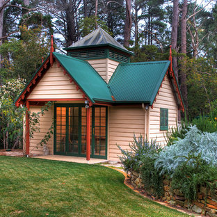 Design ideas for a traditional detached shed and granny flat in Adelaide.