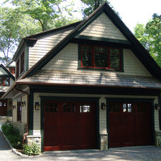Traditional Garage And Shed by Scott L. Rand AIA