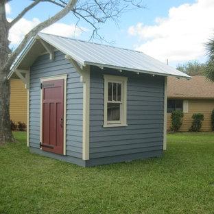 Garden shed - craftsman detached garden shed idea in Orlando