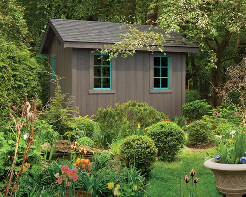 example of a classic detached shed design in cleveland - Shed Ideas Designs
