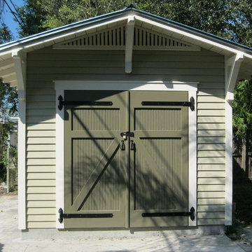10'x15' Storage Shed for a Bungalow