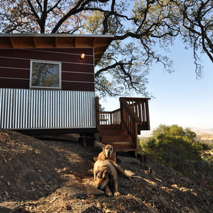 Inspiration for a contemporary shed and granny flat in Denver.