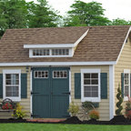 10x16 Premier Garden Shed Traditional Shed