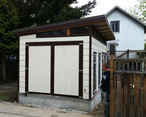 12 x 21 Coastal ModernShed GarageOffice