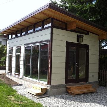 12' x 21 Coastal Modern-Shed