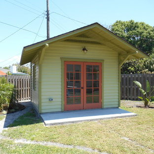 Shed - small craftsman shed idea in Tampa
