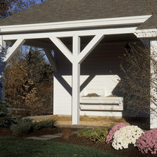 Traditional Garage And Shed by Witt Construction