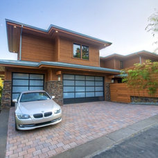 Contemporary Garage And Shed by Stone Bridge Homes NW