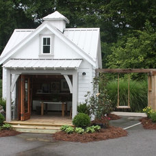 Traditional Garage And Shed by fritsch design build