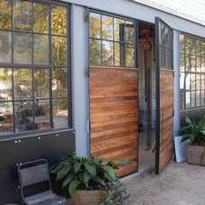 Eclectic Garage And Shed by Craig Nasso, Architect