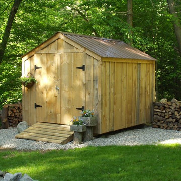 8' x 10' Vermonter ~ backyard storage shed