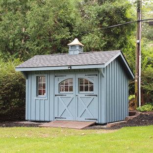 8'x12' Board & Batten Garden Quaker Shed