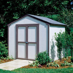 Storage Sheds & Garage Buildings - This is an economical storage solution that will fit perfectly in most backyards, no matter how small. Professionally installed by our experienced installation crew, you can sit back and relax. All that is left for you to do is paint.