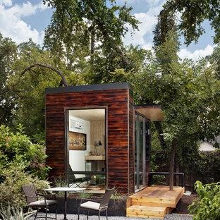 Studio / workshop shed - modern detached studio / workshop shed idea in Austin