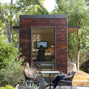Backyard Office Shed Houzz