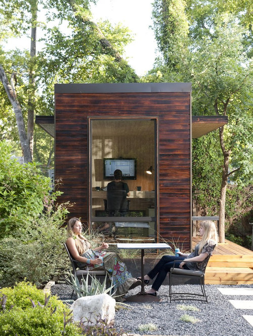 Shipping container garage and shed design ideas for Cheap garden office