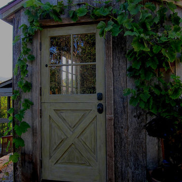 A Dutch Door and a Quality Salt Box Shed