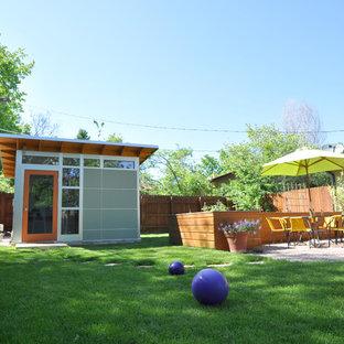 Trendy shed photo in Denver