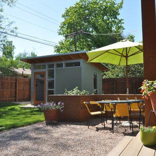 A Modern Backyard Home Office