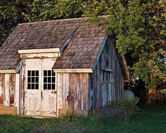 Shabby Chic Style Garage And Shed Design Ideas Pictures Remodel