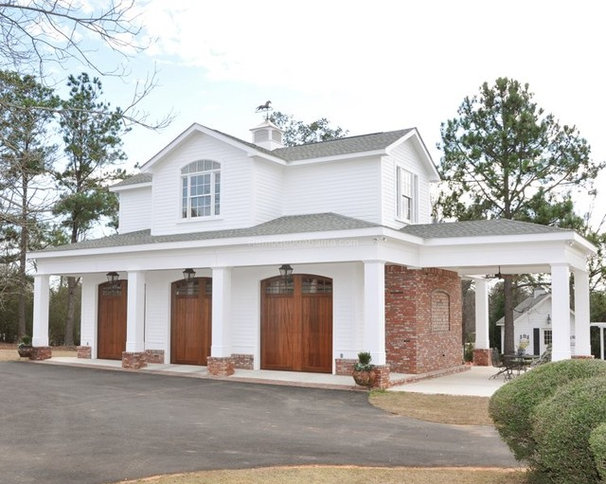 Traditional Garage And Shed by Alabama Remodeling Excellence Awards