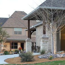 Traditional Garage And Shed by Kenneth Graham Construction