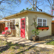 Traditional Garage And Shed by Adams Fine Homes of Keller Williams Heritage