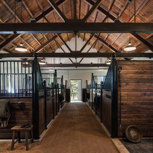 Inspiration for a cottage barn remodel in Philadelphia