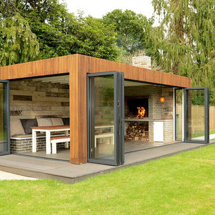 This is an example of a large contemporary garden shed and building in Other.