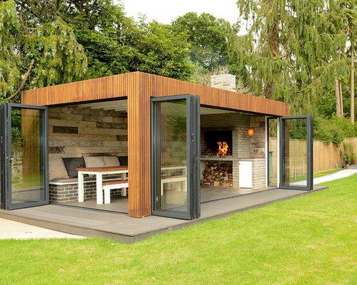 photos et id es d co de garages et abris contemporains. Black Bedroom Furniture Sets. Home Design Ideas
