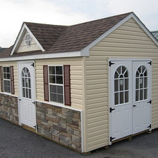Traditional Garage And Shed by Waterloo Structures