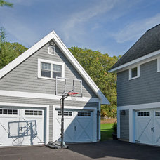 Traditional Garage And Shed by Blackdog Design Build Remodel