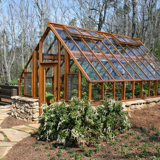 Design ideas for a traditional garden shed and building in Atlanta.
