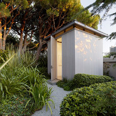 Contemporary Garage And Shed by GEMMILL DESIGN architectural studio