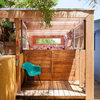 A Compact Shed Makes Room for Storage, Creativity and Style