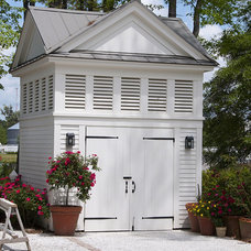 Traditional Garage And Shed by Yestermorrow Homebuilders