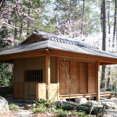 George shed 39 s more japanese style garden shed for Japanese style garden buildings