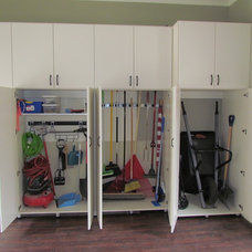 Traditional Garage And Shed by Atlanta Closet & Storage Solutions