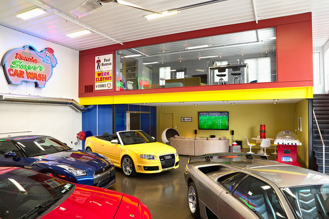 Contemporary Garage And Shed by Murphy & Co. Design