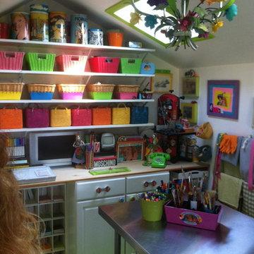averils outdoor shed/studio she shed