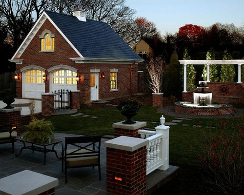 Brick Garage Houzz