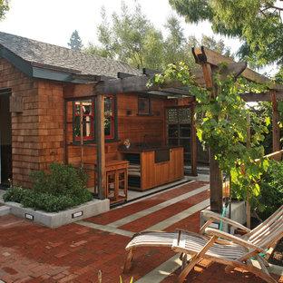 Freistehendes, Kleines Uriges Gartenhaus in San Francisco